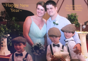 New Year's card 2018